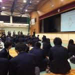 可児高等学校にて模擬選挙を実施2