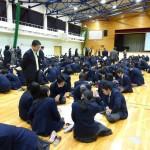 可児高等学校にて模擬選挙を実施4