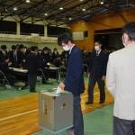 可児高等学校にて模擬選挙を実施5