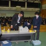 可児高等学校にて模擬選挙を実施8
